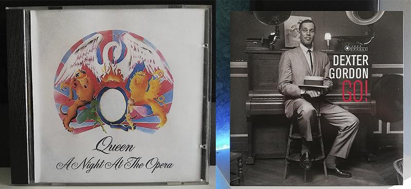Queen A Night at the Opera Dexter Gordon Go disco