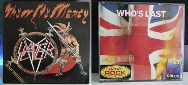 Slayer Show No Mercy The Who Who's Last disco