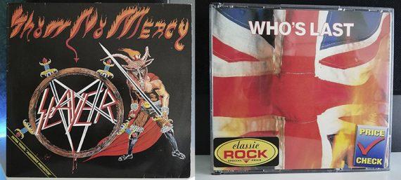 Slayer Show No Mercy The Who Who's Last disco