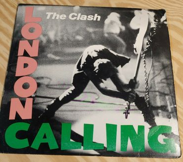 The Clash London Calling aniversario disco