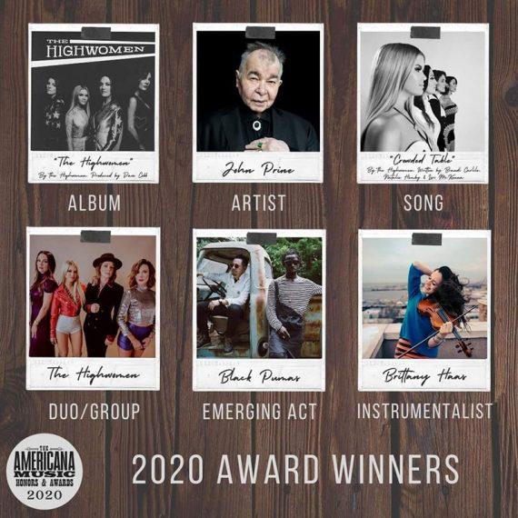 The Highwomen triunfan en los premios de la Americana Music 2020