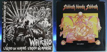 Wretched Libero Di Vivere Libero Di Morire Black Sabbath Sabbath Bloody Sabbath disco