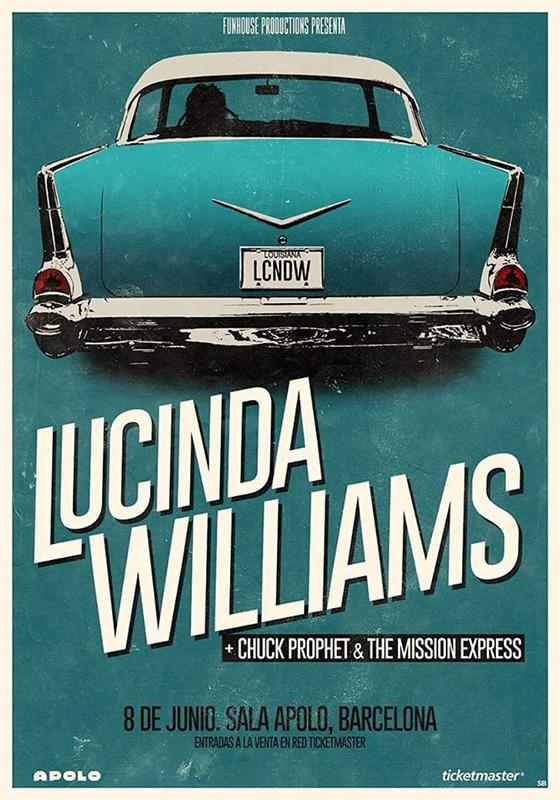 Chuck-Prophet-Lucinda-Williams-Barcelona-junio-2020