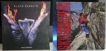 Black Sabbath Cross Purposes David Lee Roth Skyscraper disco