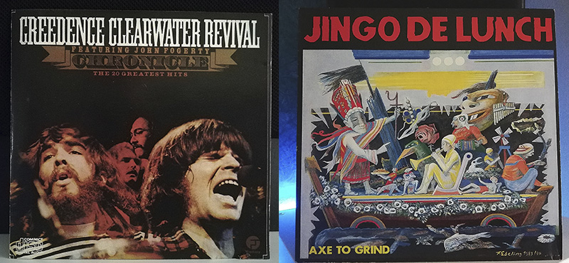 Creedence Clearwater Revival Chronicle, Vol. 1 Jingo De Lunch Axe To Grind disco