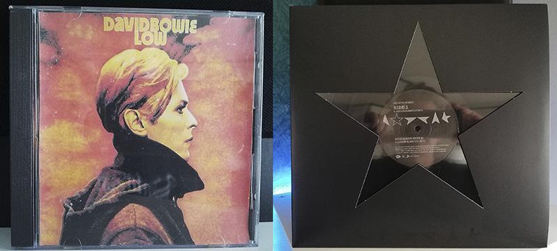 David Bowie Low David Bowie Blackstar disco