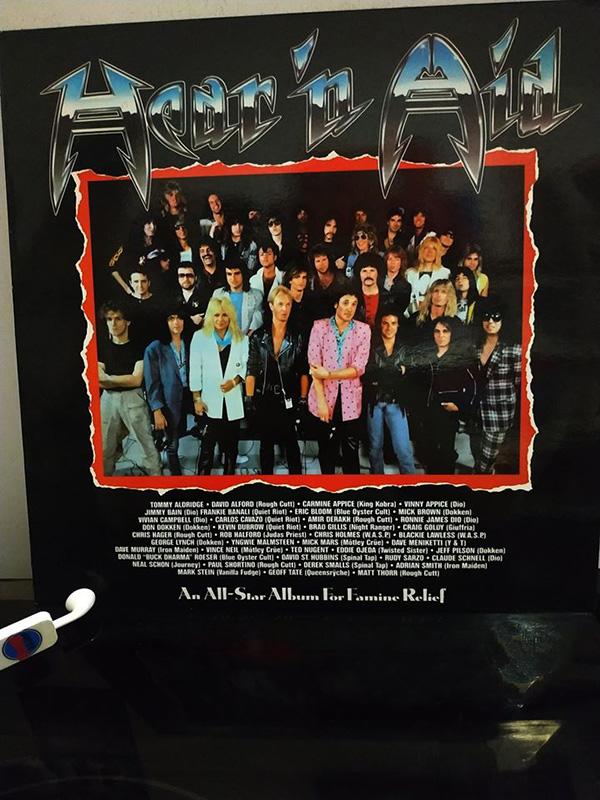 Hear 'n Aid 1986 disco