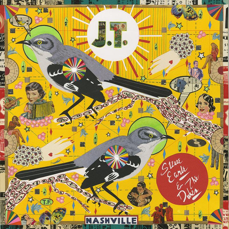 J.T., el disco más doloroso de Steve Earle dedicado a su hijo Justin