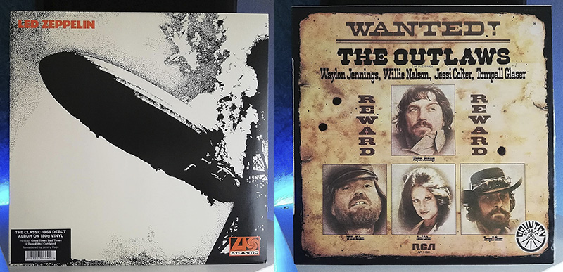 Led Zeppelin Led Zeppelin Waylon Jennings, Willie Nelson, Jessi Colter, Tompall Glaser Wanted! The Outlaws disco