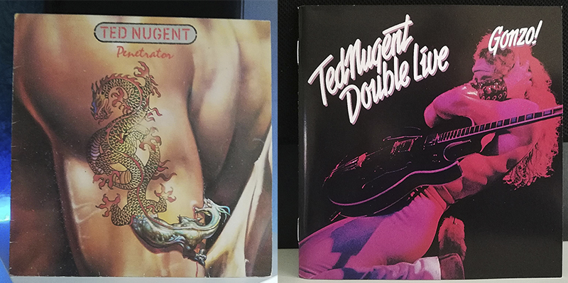 Ted Nugent Penetrator Double Live Gonzo! disco