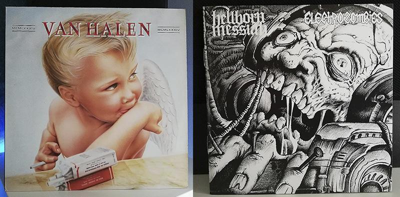 Van Halen 1984 Electrozombies y Hellborn Messiah Electrozombies Hellborn Messiah disco