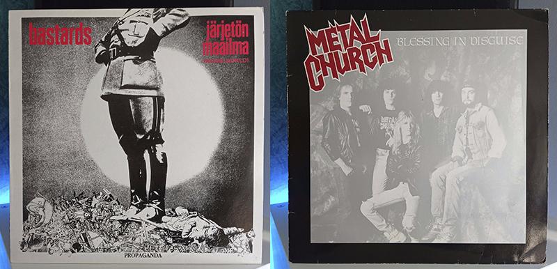 Bastards Järjetön Maailma (Insane World) Metal Church Blessing In Disguise disco