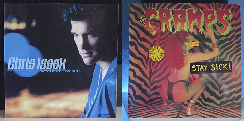 Chris Isaak Always got tonight The Cramps Stay Sick! disco
