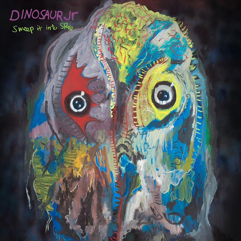 Dinosaur Jr. publica nuevo disco, Sweep It Into Space con Kurt Vile a la guitarra y producción