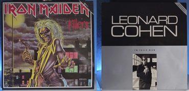 Iron Maiden Killers Leonard Cohen I'm your man disco