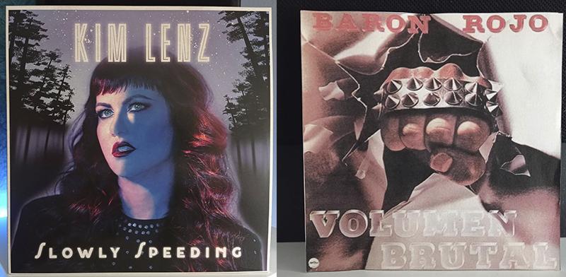 Kim Lenz Slowly Speeding Barón Rojo Volumen Brutal disco