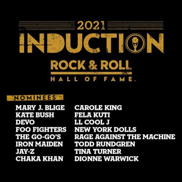 Nominados y candidatos a entrar al Rock & Roll Hall of Fame 2021