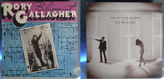 Rory Gallagher Blueprint Nick Cave and The Bad Seeds Push the Sky Away disco