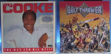 Sam Cooke The Man And His Music Bolt Thrower War Master disco