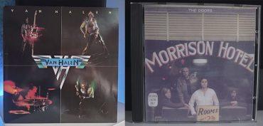 Van Halen Van Halen The Doors Morrison Hotel