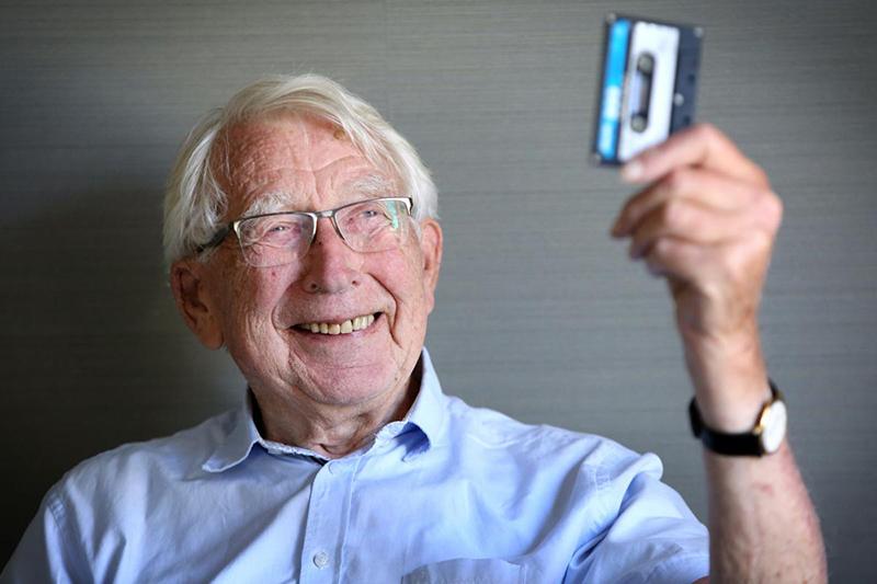 Adiós a Lou Ottens, el inventor del cassette