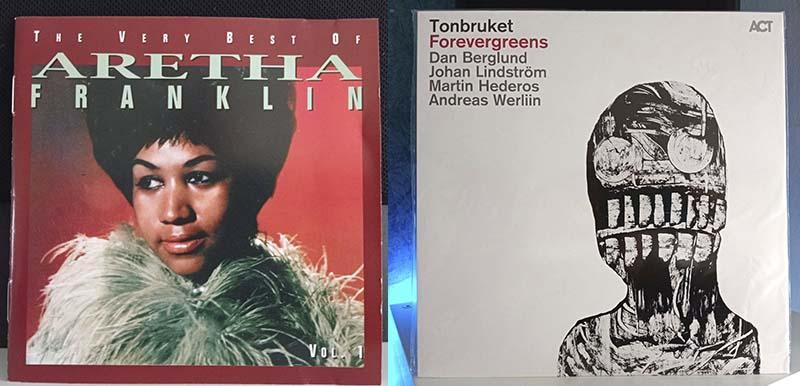 Aretha Franklin The Very Best of Aretha Franklin vol. Tonbruket Forevergreens disco