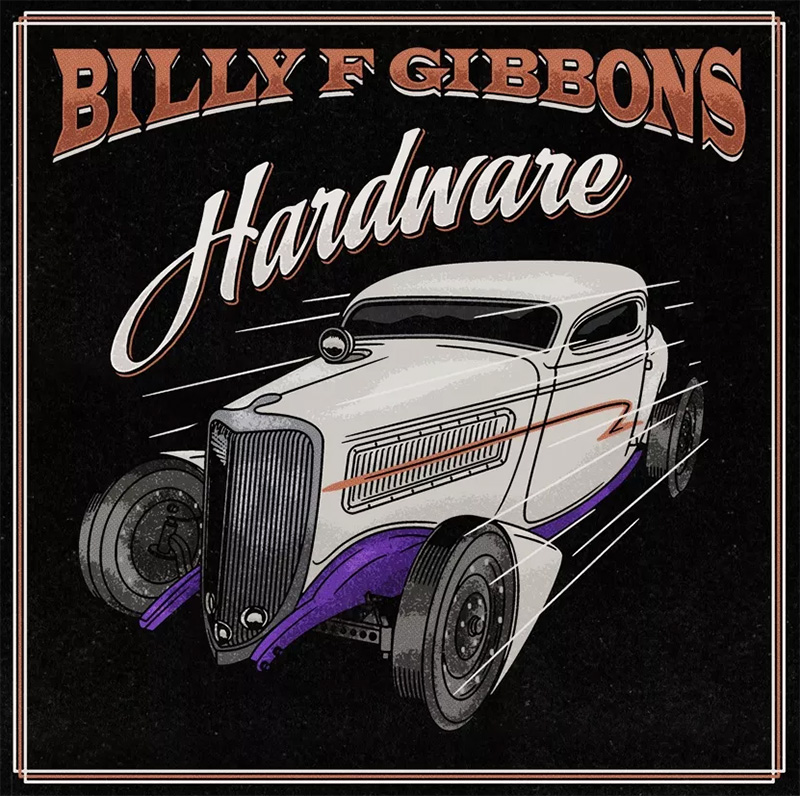 Billy Gibbons anuncia nuevo disco en solitario, Hardware