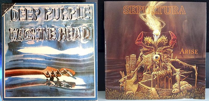Deep Purple Machine Head Sepultura Arise