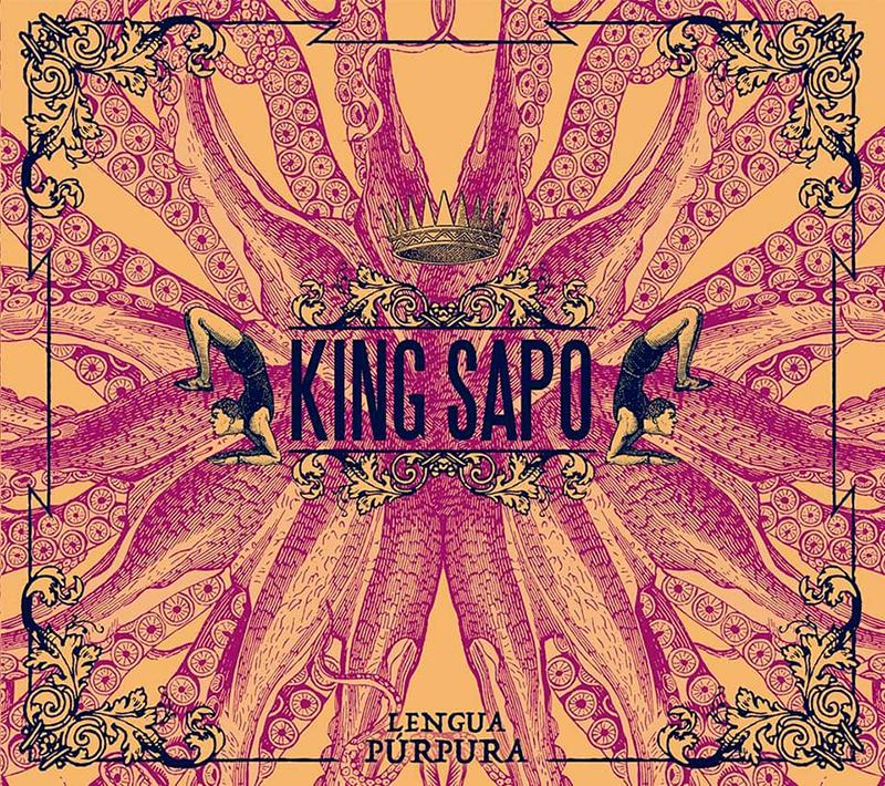 King Sapo tienen nuevo trabajo, Lengua Púrpura