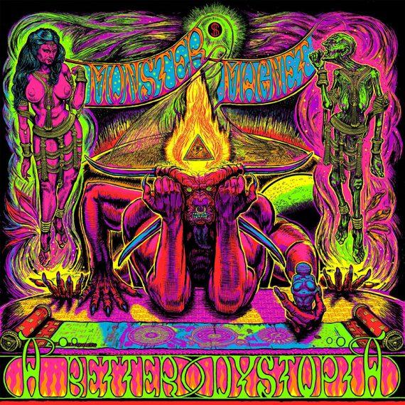 Monster Magnet publicará su disco de versiones, A Better Dystopia