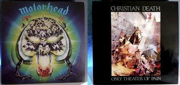 Motörhead Overkill Christian Death Only Theater of Pain disco