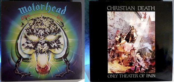 Motörhead Overkill Christian Death Only Theater of Pain disco