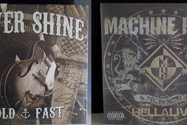 The Silver Shine Hold Fast Machine Head Hellalive