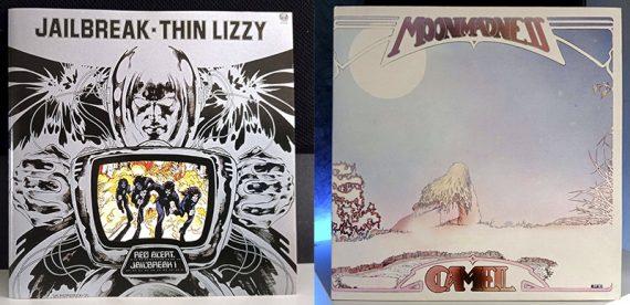 Thin Lizzy Jailbreak Camel Moonmadness disco