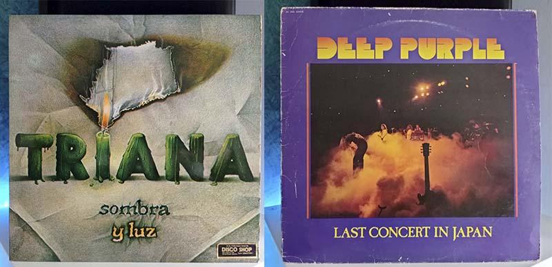Triana Sombra y Luz Depp Purple Last Concert In Japan disco