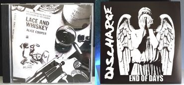 Alice Cooper Lace And Whiskey Discharge End Of Days disco