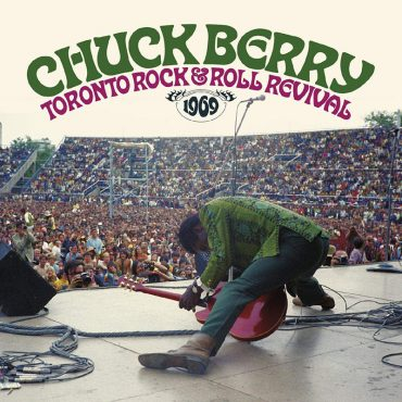 Chuck Berry en el histórico Toronto Rock and Roll Revival 1969