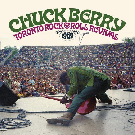 Chuck Berry en el histórico Toronto Rock and Roll Revival 1969