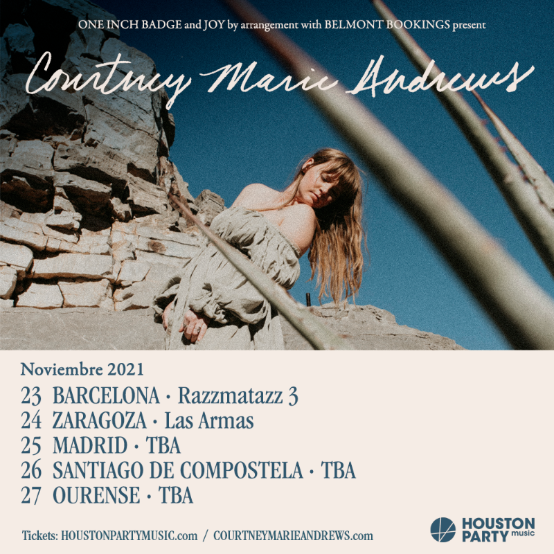 Courtney Marie Andrews anuncia gira para noviembre 2021