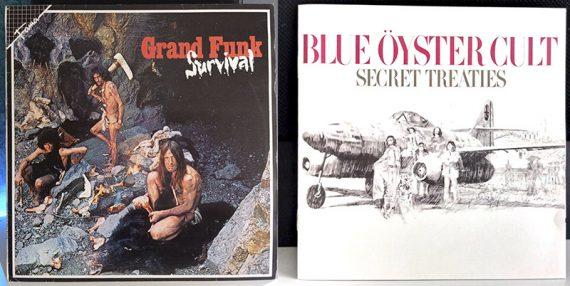Grand Funk Railroad Survival Blue Öyster Cult Secret Treaties disco