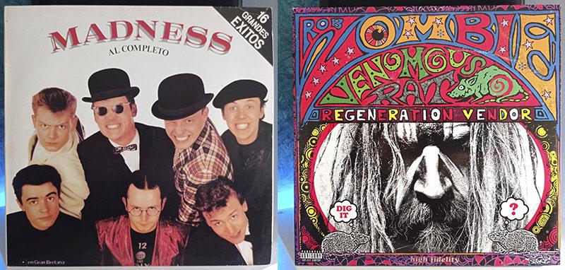 Madness Al Completo Rob Zombie Venomous Rat Regeneration Vendor disco