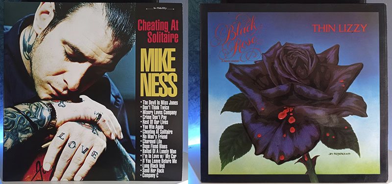 Mike Ness Cheating at Solitaire Thin Lizzy Black Rose disco