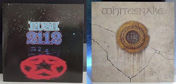 Rush 2112 Whitesnake 1987 disco