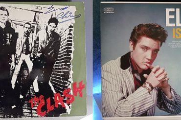 The Clash The Clash Elvis Presley Elvis Is Back! disco