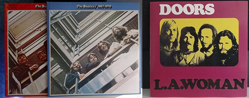 The Doors L.A. Woman The Beatles 1962-1966 1967-1970 disco