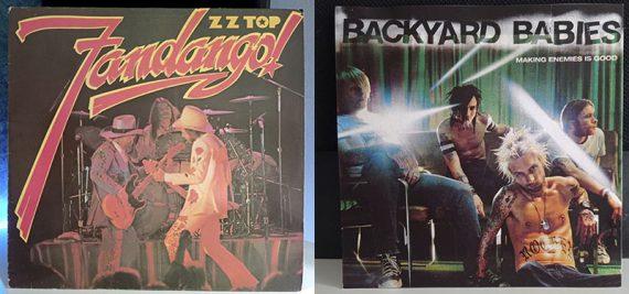 ZZ Top Fandango! Backyard Babies Making Enemies Is Good disco