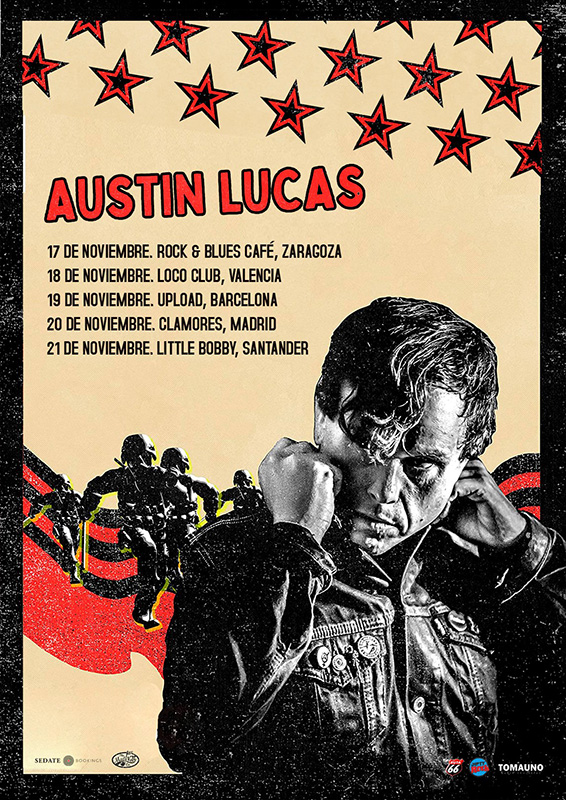 Austin Lucas gira noviembre 2021
