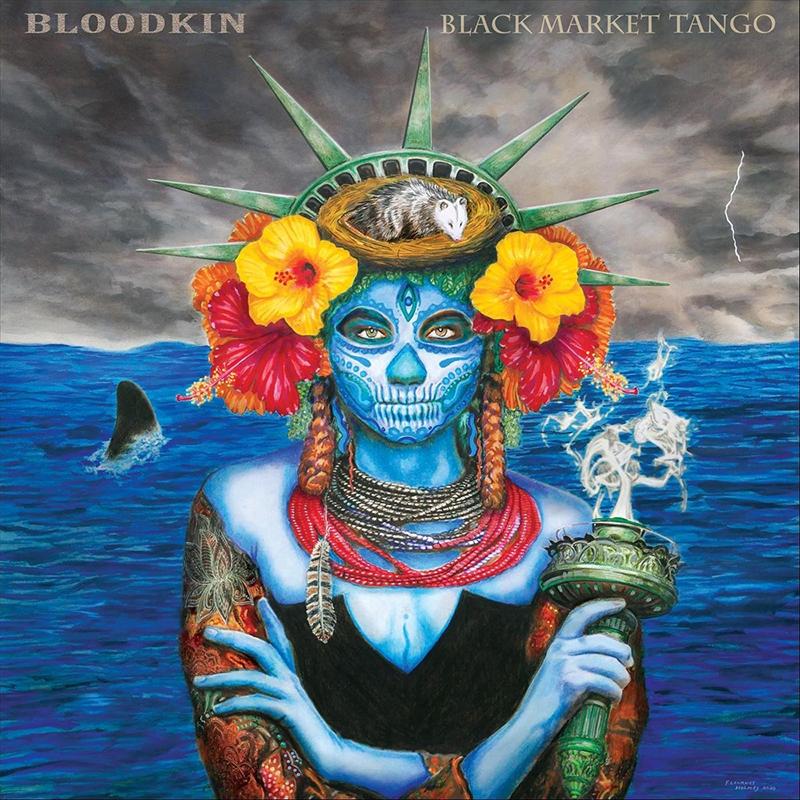 Bloodkin Black Market Tango nuevo disco