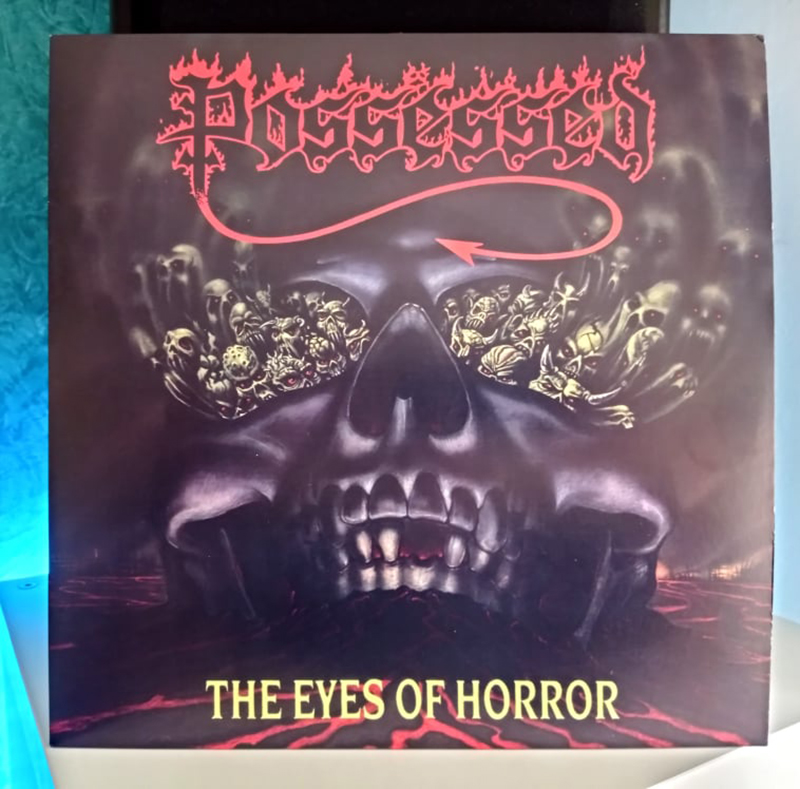 Possessed – The Eyes Of Horror disco