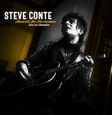 Steve Conte nos regala tres temas en directo desde el Paradiso